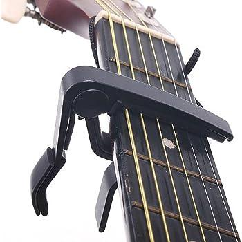 Capodastre Capo Pince Accordeur Métal Guitare Électrique Classique Acoustique