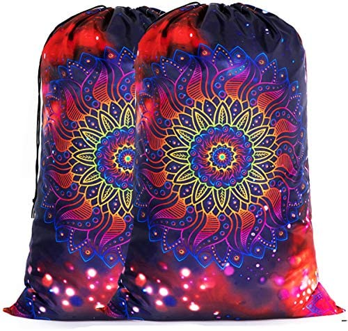Sylfairy 2 Pack Extra Large Travel Laundry Bag 24 x 36 Durable Rip Stop Dirty Clothes Shoulder product image