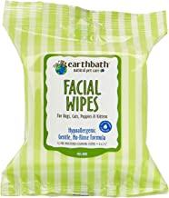 product image for EARTHBATH 026361 25 Count Facial Wipes Pouch for Dogs, Cats, Puppies and Kittens(2Pack)