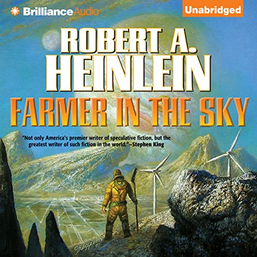 Farmer in the Sky audiobook cover art