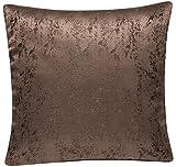 Schwar Textilien Kissenhülle 2er Pack mit Lotus Effekt für Innen und Außen abwaschbar Meliert...
