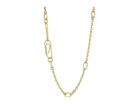 French Connection Paperclip Chain Necklace ZhKycg5