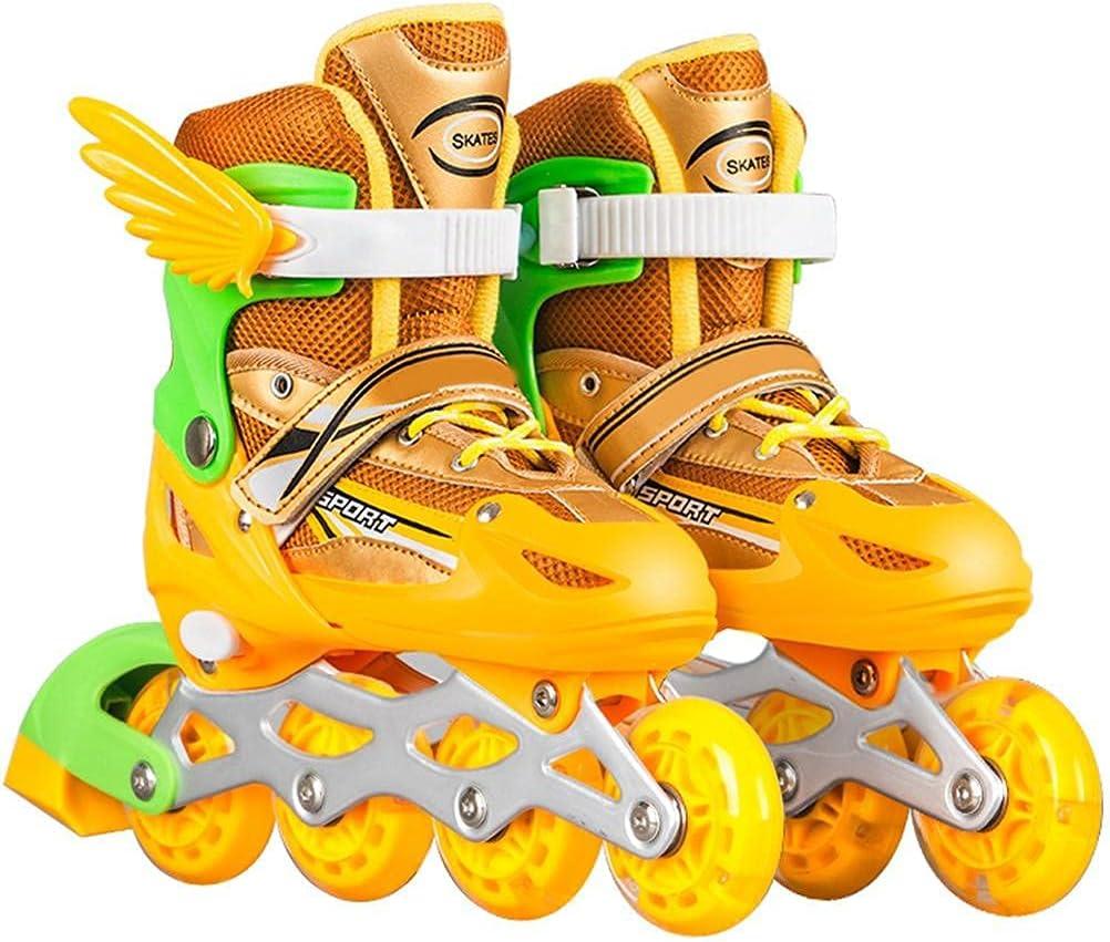 AoFeiKeDM Roller Skates Childrens Adj Full We OFFer at cheap prices of Set shopping