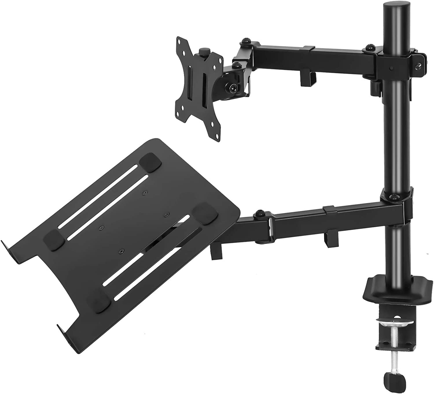 imlib Laptop Monitor Mount Colorado Springs Mall Max 69% OFF Stand Height Adjustable - Desk