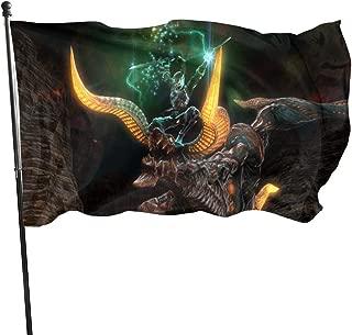 TeriDDeas Final Fantasy XIV Garden Flag Decoration Flag, Indoor/Outdoor Decoration Flag 35x60 Inch