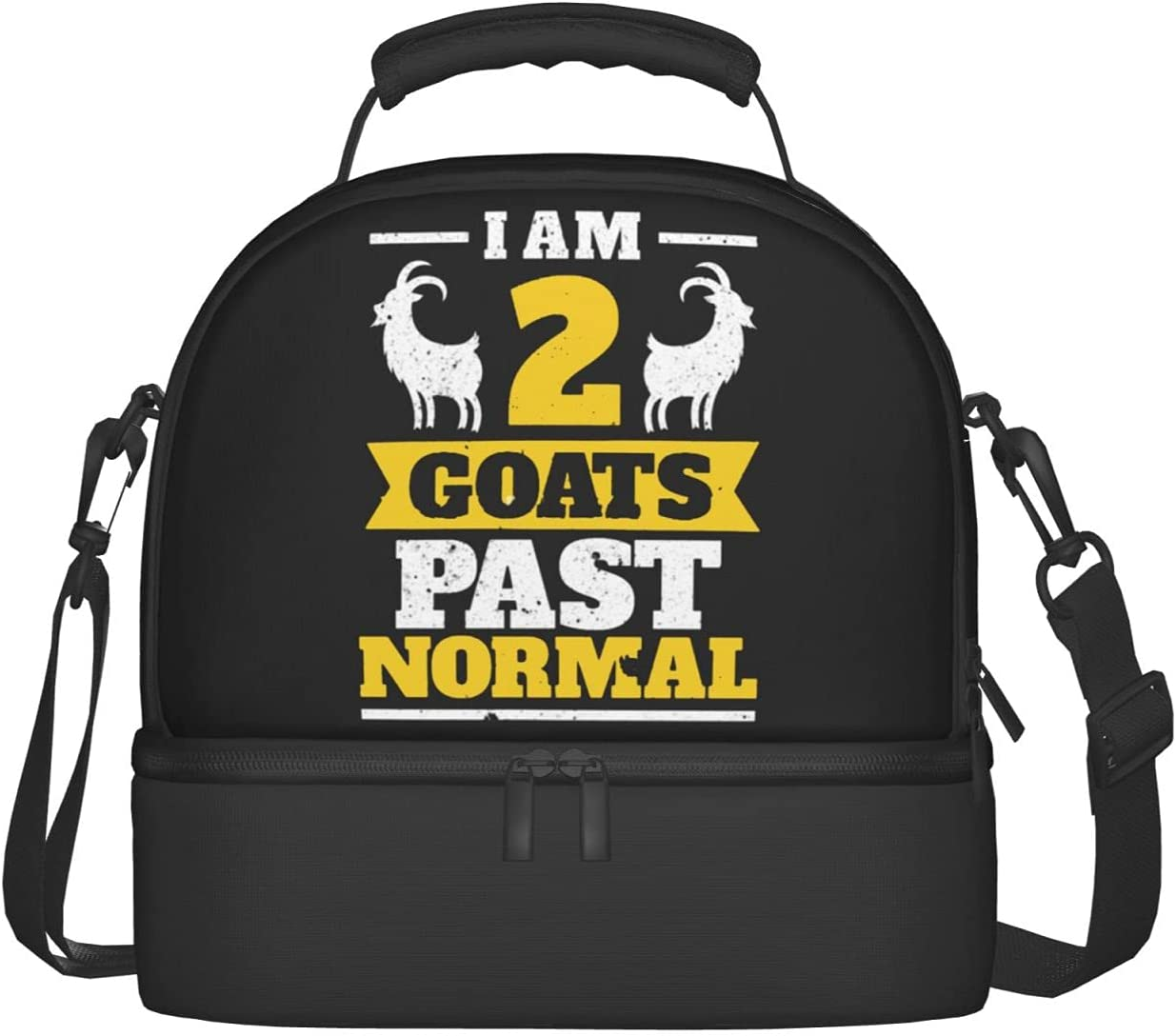 I Am List price 2 Goats Past Normal Two Goat Regular dealer Bags Insula Compartments Lunch
