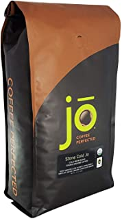 STONE COLD JO: 2 lb, Cold Brew Coffee Blend, Dark Roast, Coarse Ground Organic Coffee, Silky, Smooth, Low Acidity, USDA Certified Organic, Fair Trade Certified, NON-GMO, Great French Press Hot Brew