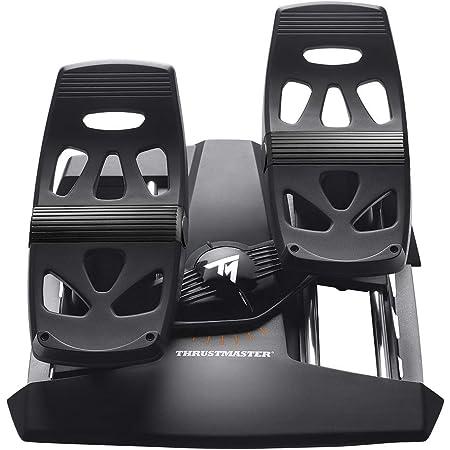Thrustmaster T.FLIGHT RUDDER PEDALS - PC / PS4 - Dos pedales de freno diferencial grandes - compatible con todos losjoysticks del mercado