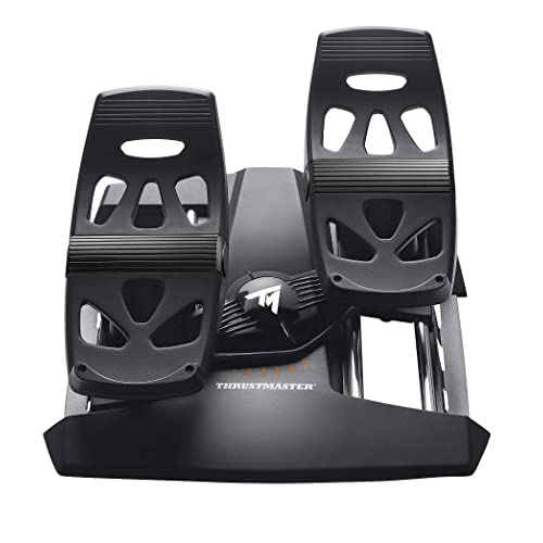 Thrustmaster - TFRP- T.Flight Rudder Pedals - Palonnier Ergonomique pour PS4/PC/XBOX One
