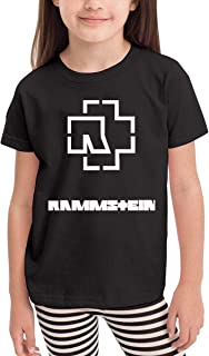 2-6 Year Old Neutral Children's T-Shirt Ram-ms-tein Band Till Radio Unique Classic Fashion Style Black