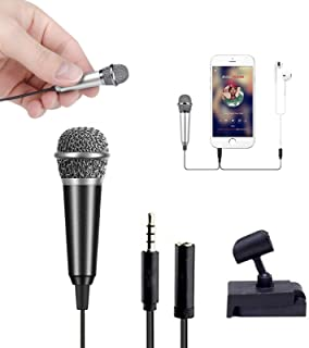 Mini Portable Vocal/Instrument Microphone for Mobile Phone Cell Phone Laptop Notebook Apple iPhone Android Smartphone with...
