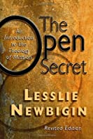 The Open Secret: An Introduction to the Theology of Mission by Lesslie Newbigin(1995-02-28)