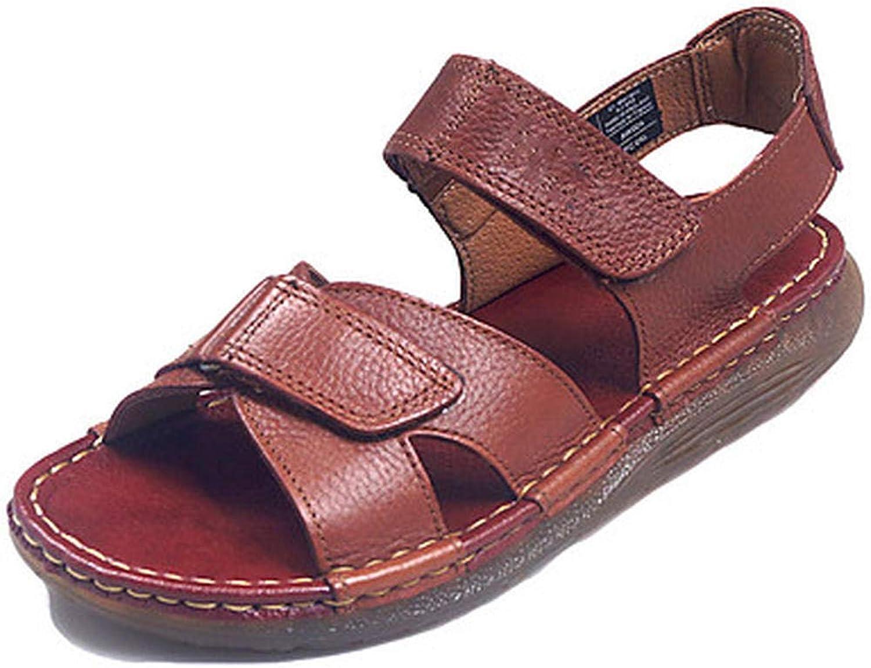 Herrensandalen Nappa Spring Summer Sandals Sandals Sandals Upstream Schuhe schwarz Coffee 10d