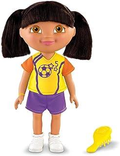 Dora la Exploradora Fisher Price V2205 Muñeca de Dora Vestida de Futbolista