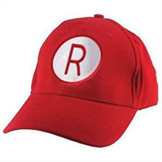 MyPartyShirt Rockford Peaches Baseball Cap A League of Their Own Costume Hat Hinson Dugan Red
