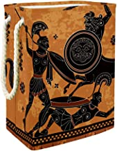Laundry Basket Ancient Greece WarriorCollapsible Laundry Hamper for Bathroom Bedroom Home Toys and Clothing Organization