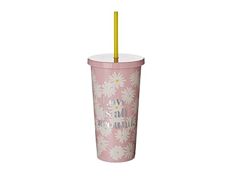 Kate Spade New York Love Is All Around Tumbler with Straw
