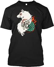 Okami Amaterasu T-shirt Customized Handmade T-shirt For Men For Women