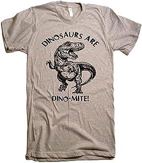Dinosaurs Are Dinomite T-Shirt Trex T Shirt - American Apparel Tshirt - Xs S M L Xl And Xxl T-Shirt