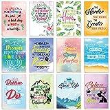 Motivational Journal Pocket Notebooks Inspirational Mini Notebooks Small Cute Dairy Notebooks 12 Designs 80 Pages