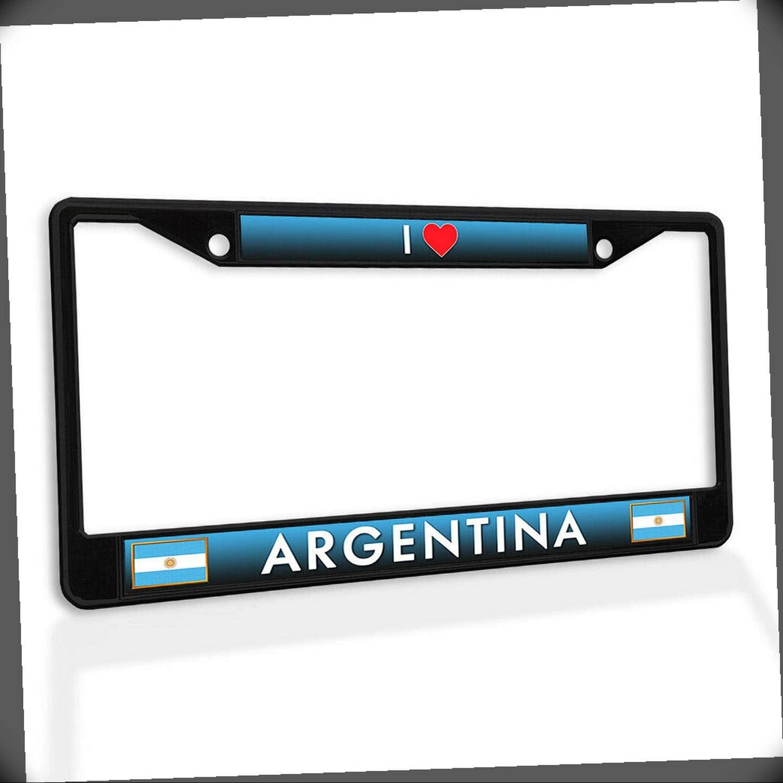 New License Plate Frame Japan Maker I Heart Metal Outstanding Insert Argentina Car Fra