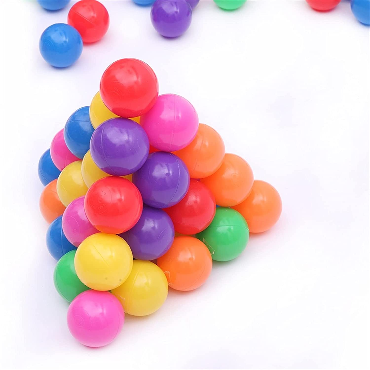 WHNB 100pcs Be super welcome Fun Soft Discount mail order Plastic Ocean Kids Baby Pit Ball Swim Toys