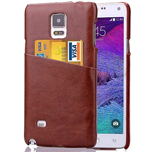 Galaxy Note 4 Case,NSSTAR Ultra Slim Fit Scratch-Proof Hybrid PU Leather...