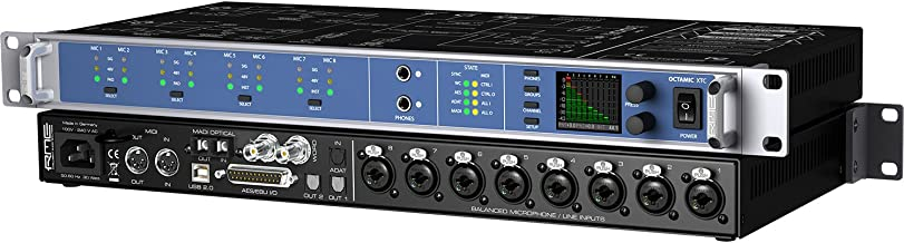 RME Microphone Preamp (OCTAMICXTC)