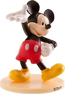 Dekora - Taartdecoratie met de Mickey Mouse-figuur van PVC met zijn eigenschap Pose van Welkom