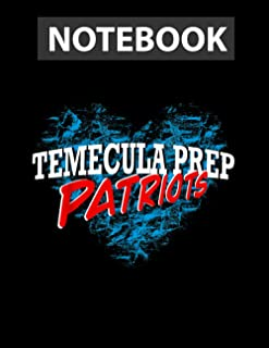 Temecula Preparatory School Spirit TPS Notebook 8.5x11 in Journal Lined