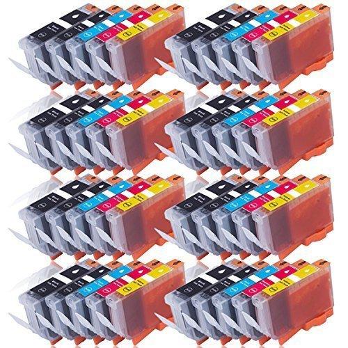Cenado 40 Druckerpatronen kompatibel für Canon PGI-525 CLI-526 für Pixma IP4850 IP4950 IX6550 MG5150 MG5250 MG5350 MG6150 MG6250 MG8150 MG8250 MX710