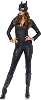 Leg Avenue 3PC. Captivating Crime Fighter, quilted catsuit, utility belt, mask