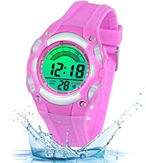 Kids Digital Watch for Boys Girls,Sports Outdoor LED Waterproof Multi Functional Wrist Watches with Soft Strap for Child Ages 3-15