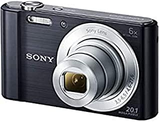 Sony Cybershot DSC-W810 Digital Camera, Black