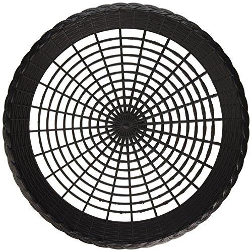 Plastique 9 cm Porte-assiettes en plastique Noir 4 Maryland Par lot, jardin, pelouse, de l'entretien