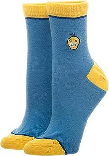 Nickelodeon Looney Tunes Tweety Bird Juniors Ankle Socks
