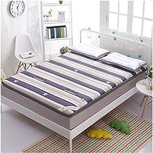 Tatami Futon Mattress, Portable Futon Tatami Mattress Camping Yoga Dormitory Floor for Dorm Bedroom Home Decor Thickness 5...