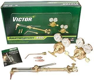 Victor Journeyman 450 Heavy Duty Acetylene Cutting, Welding Outfit, CGA-300, Package Size: 1 Each
