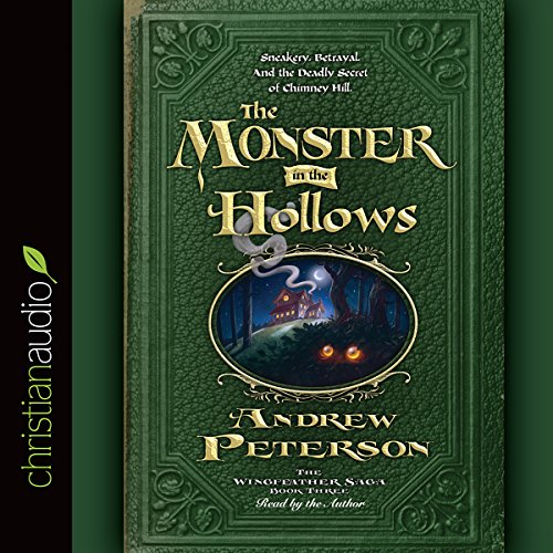 The Monster in the Hollows audiobook cover art