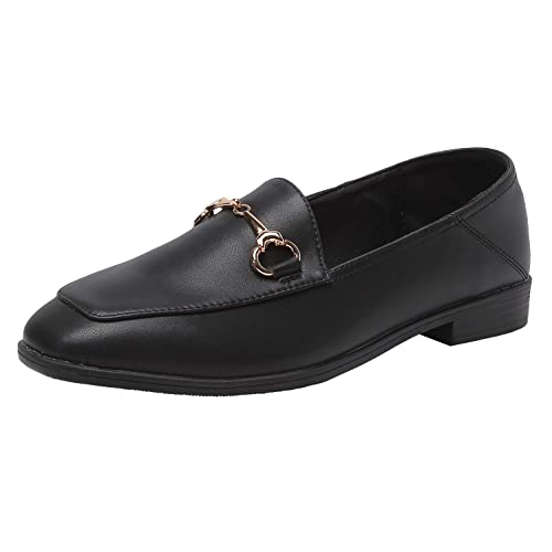 3fe94ec40ae Modenpeak Women s Penny Loafers Slip On Leather Flats Shoes