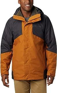 Columbia Men's Bugaboo II Fleece Interchange Winter Jacket, Waterproof & Breathable