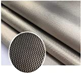 Emf Protection Fabric,Faraday fabric RFID EMF Shielding Nickel Copper Fabric Signal Blocking Material 3 Yards,EMF Shielding, Military Grade Shielding Fabric (44in x 9ft L)