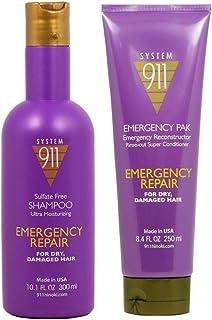 """Hayashi System 911 Shampoo 10.1oz & Emergency Pak 8.4oz""""Set"""""""