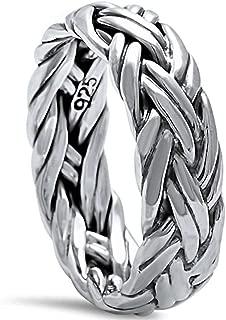 mens nautical wedding rings