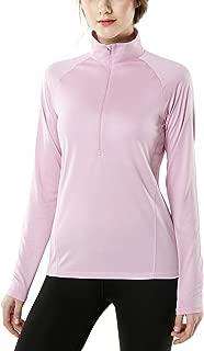 Women's Half Zip HyperDri Track Pullover Running Cool Dry Active Sport Shirt Top