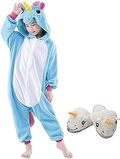 ee291d25f9c04 Animal Pyjama Kiguruma Combinaison Vêtement de Nuit Cosplay Costume  Déguisement pour Enfant Unisex