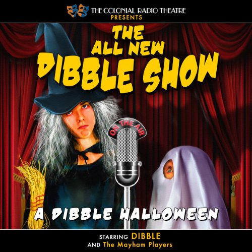 A Dibble Halloween audiobook cover art