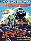 Flying Scotsman Blechschilder Vintage Metall Poster Retro
