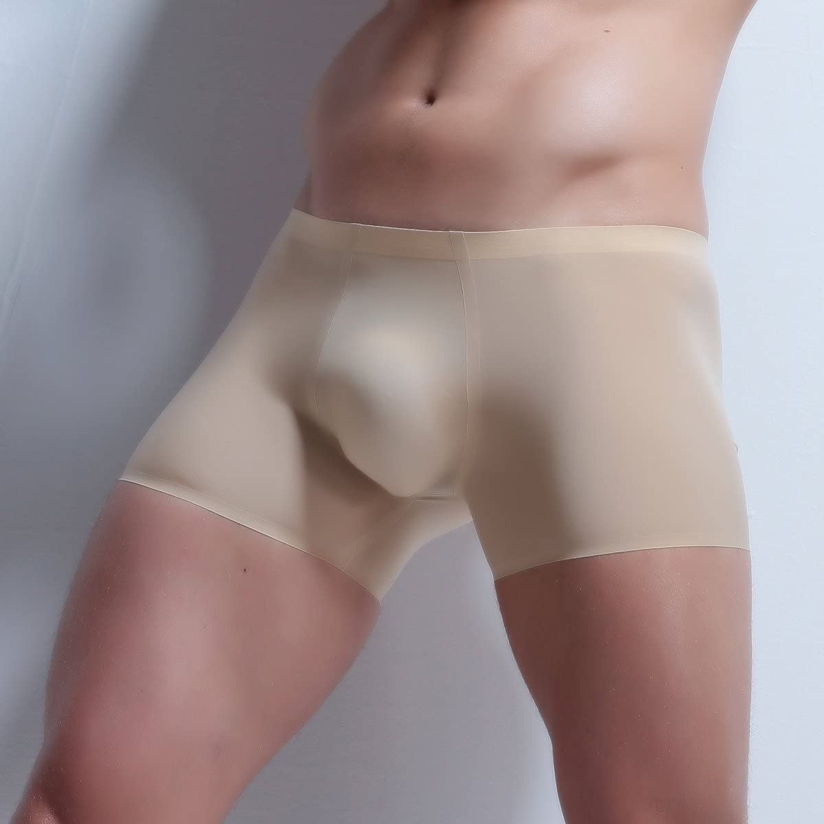 ElsaYX Hommes Troncs sans Couture Boxer