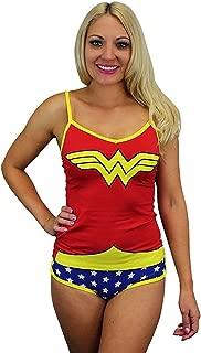 Wonder Woman Glow In The Dark Cami Set